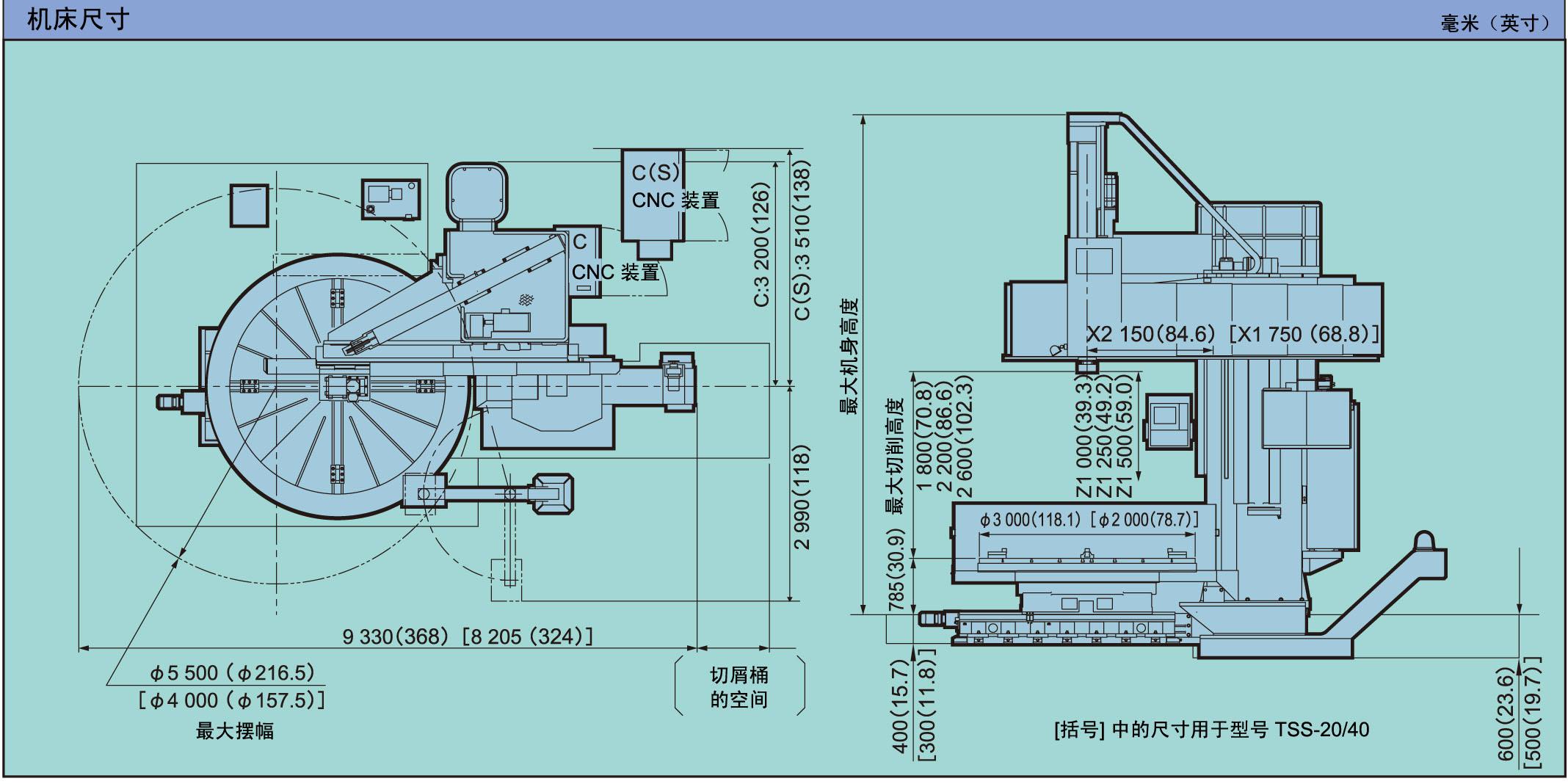 机床图纸和布局 (jpg/704kb)